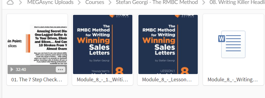 Stefan Georgi – The RMBC Method