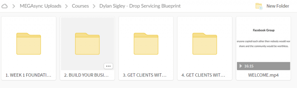 Dylan Sigley – Drop Servicing Blueprint