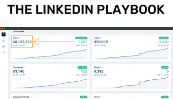 Justin Welsh - The LinkedIn Playbook - From 0 to 80k+ Followers