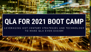 Bruce Whipple – QLA For 2021 Boot Camp