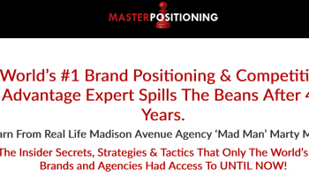 Marty Marion – Brand Positioning Master Course [$25 GB]